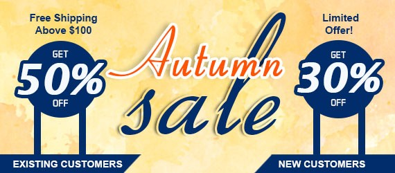 Autumn Sale 2019