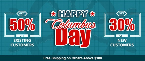 Columbus Day Offer 2018