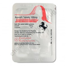Avanafil Tablets 100mg, Avaforce 100