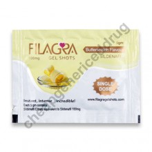Filagra 100mg Gel Shots Butterscotch Flavour