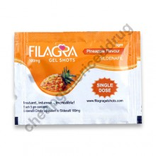 Filagra 100mg Gel Shots Pineapple Flavour