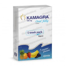 Kamagra 100mg Oral Jelly 7 Flavours